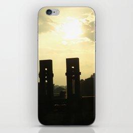 Sunset Memorial iPhone Skin