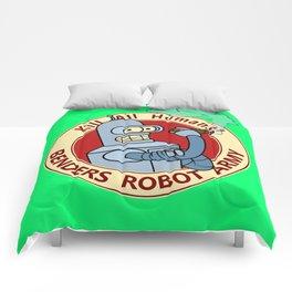 Benders Robot Army! Comforters