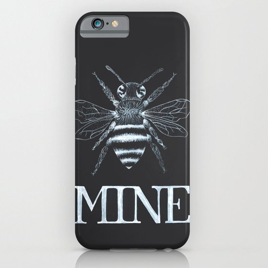 Black Bee Mine - Valentine  iPhone & iPod Case