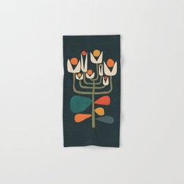 Retro botany Hand & Bath Towel