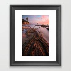 Leading Lines Framed Art Print