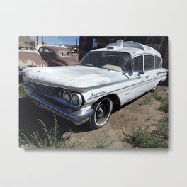 Antique wheels Metal Print
