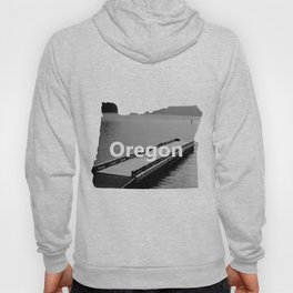 Suttle Lake in Gray and Black Hoody