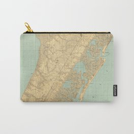 Vintage Map of Cape May NJ (1888) Carry-All Pouch