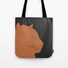 All lines lead to the...Inverted Tiger Tote Bag
