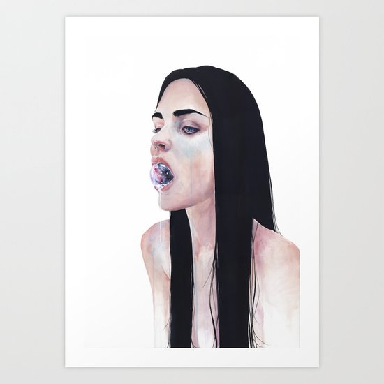 contenere in sé Art Print