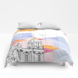 Berlin Cathedral (Berliner Dom) daytime. Comforters