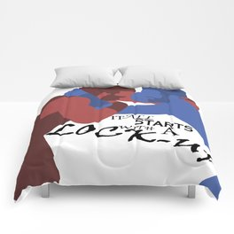 Collar and Elbow Tie-Up Comforters
