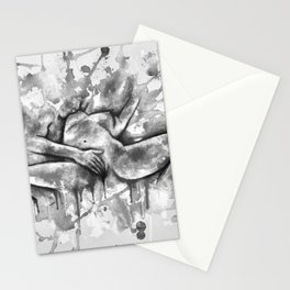 Colorful Climax black&white - Erotic Art Illustration Nude Sex Sexual Love Relationship Mature Stationery Cards