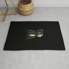 Kaws - Companion Flayed Open Edition Vinyl Figure Black Rug