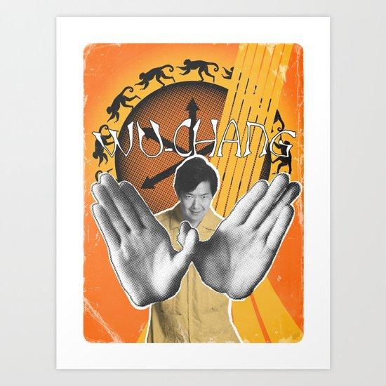 WU-CHANG  Art Print