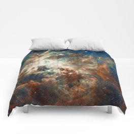 Space Nebula, Star and Space, A View of Galaxy and Outerspace Comforters