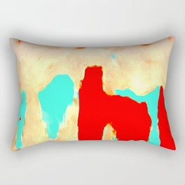The joy of non- consciousness Rectangular Pillow