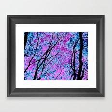 Crystalline Grove Framed Art Print