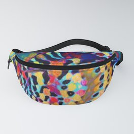 Butterfly Pizazz | Oil Painting Fanny Pack