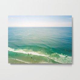 Summer Sunshine Beach Metal Print