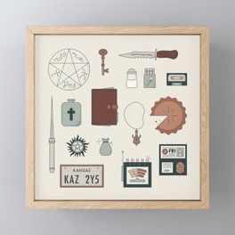 The Family Business Framed Mini Art Print
