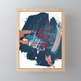 Pacific Northwest: a pretty minimal abstract piece by Alyssa Hamilton Art Framed Mini Art Print