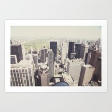the city::nyc Art Print
