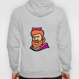Bearded Lady Mascot Hoody