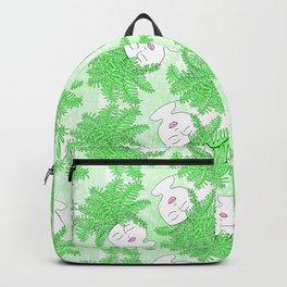 Fern-tastic Girls in Neon Green Backpack