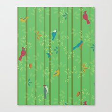 Hello Birdies Canvas Print