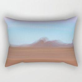 Abstract journey Rectangular Pillow