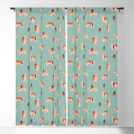 Tigers and girls Blackout Curtain