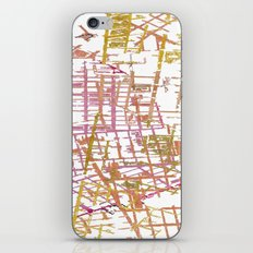 NYC Map lines iPhone & iPod Skin