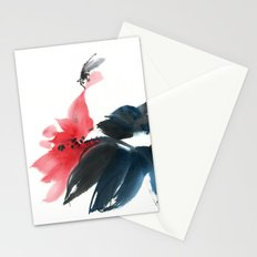 The self in the mirror Stationery Cards