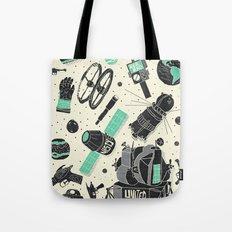 Space Funk Tote Bag
