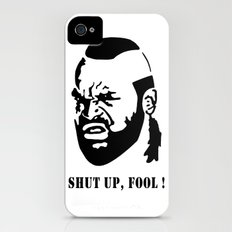 B.A. Baracus (Mr. T) from The A-Team Slim Case iPhone (4, 4s)