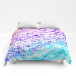 Totally Awesome 80s Colorful Ombre Comforters