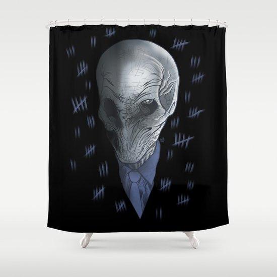 Silent 93 Shower Curtain