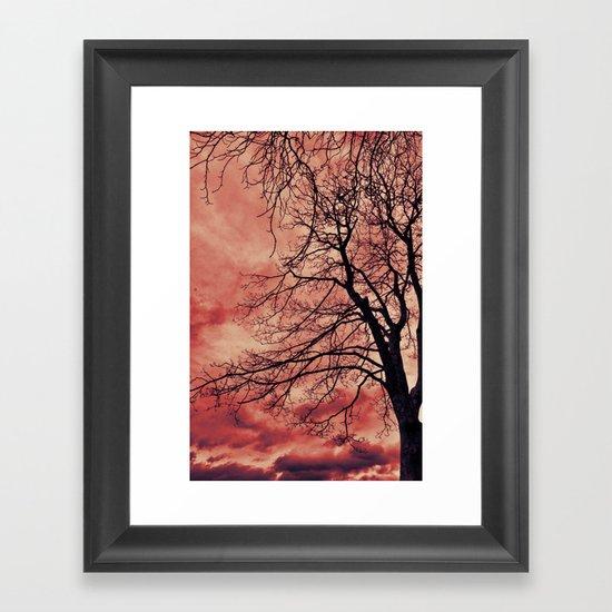 Fires Framed Art Print