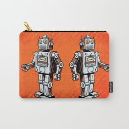 Retro Robot Toy Carry-All Pouch