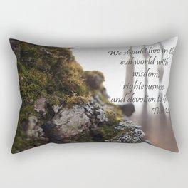 Titus 2|12 Rectangular Pillow