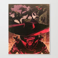 King of Rats Canvas Print