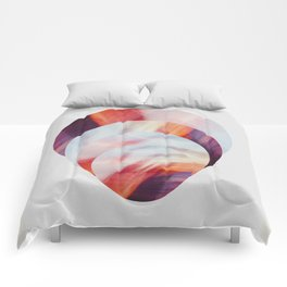Sunset Circles New Zealand Comforters