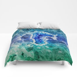 MINERAL MAZE Comforters