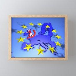 European Union Framed Mini Art Print