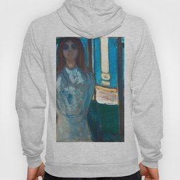 The Voice, Summer Night by Edvard Munch Hoody