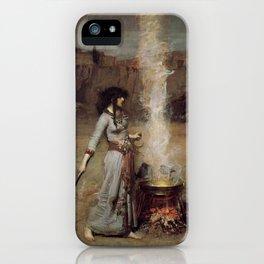 The Magic Circle, John William Waterhouse iPhone Case