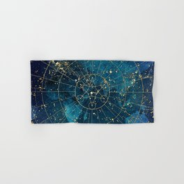 Star Map :: City Lights Hand & Bath Towel