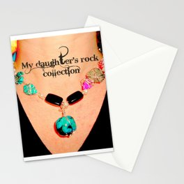 My Daughter's Rock Collection Stationery Cards