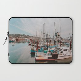 Fishing Boats Laptop Sleeve