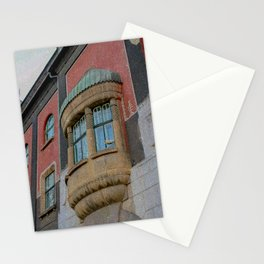 Retro city hall in Subotica Stationery Cards