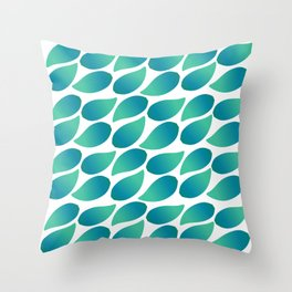 Leaves of Green Throw Pillow