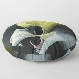 Geometric Cats Floor Pillow