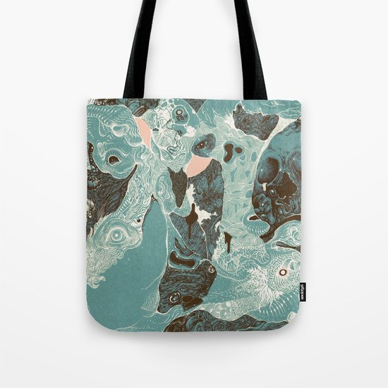 The End (despair) Tote Bag
